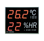 Temperature and humidity indicator. Hygrometer